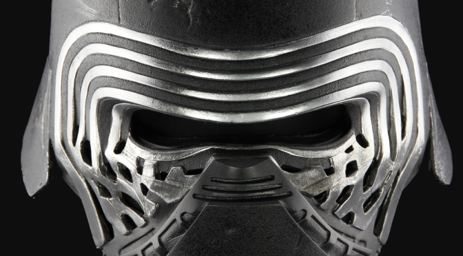 The Helmet of Kylo Ren