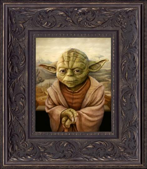 Yoda - Star Wars - Art Awakens - by Naoto Hattori