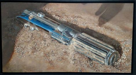 Your destiny lies along a different path tahn mine Star Wars Art Awakens by Ashton Gallagher