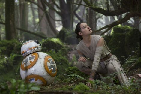 New Star Wars The Force Awakens Promotional Images _ Rey and BB8 on the planet Takodana