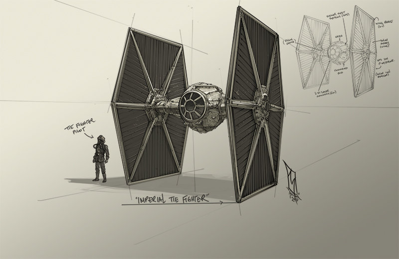 Star Wars Imperial Tie Fighter by Shane Molina