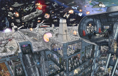 Star Wars - The Epic Battles Death Star by Jeff Carlisle
