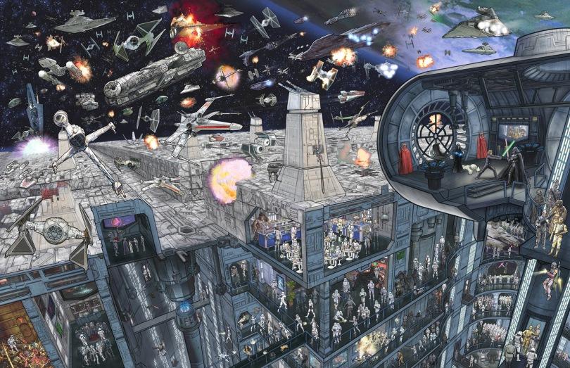 Star Wars - The Epic Battles Death Star by Jeff Carlisle