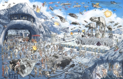 Star Wars - The Epic Battles Hoth by Jeff Carlisle