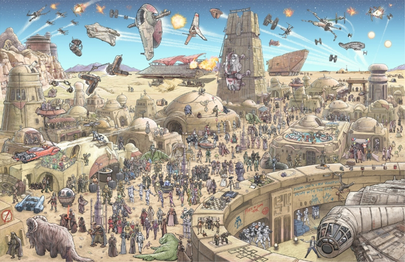 Star Wars - The Epic Battles Tatooine by Jeff Carlisle