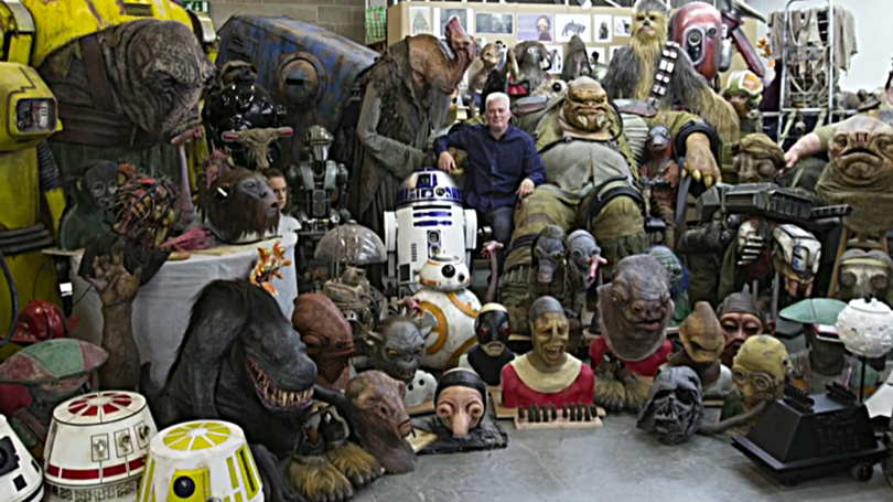 Star Wars The Force Awakens Creature Shop Neal Scanlon Pinewood Studios