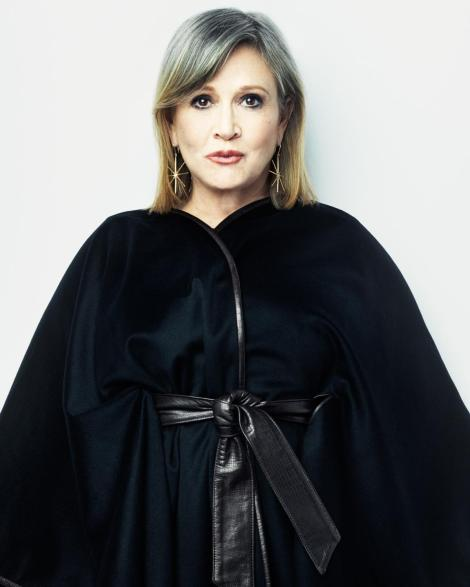 Star Wars The Force Awakens Portraits by Marco Grob _ Carrie Fisher photographed for TIME on October 27, 2015 in Los Angeles_ Hi Res