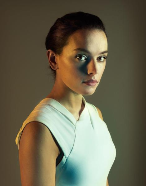 Star Wars The Force Awakens Portraits by Marco Grob _ Daisy Ridley photographed for TIME on October 29, 2015 in London_ Hi Res