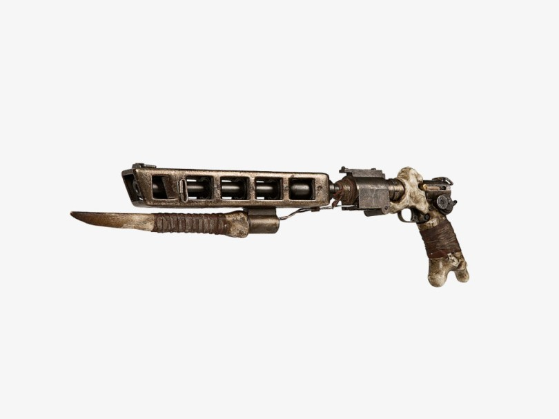Star Wars The Force Awakens Weapons and Helmets _ Huttsplitter blaster of Tasu Leech