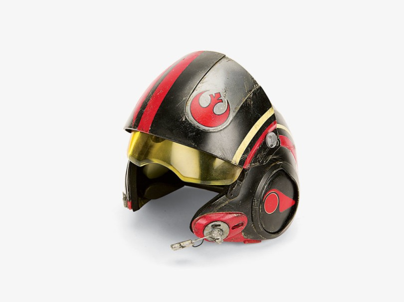 Star Wars The Force Awakens Weapons and Helmets _ Poe Damerons Black Squadron X-wing starfighter pilot helmet