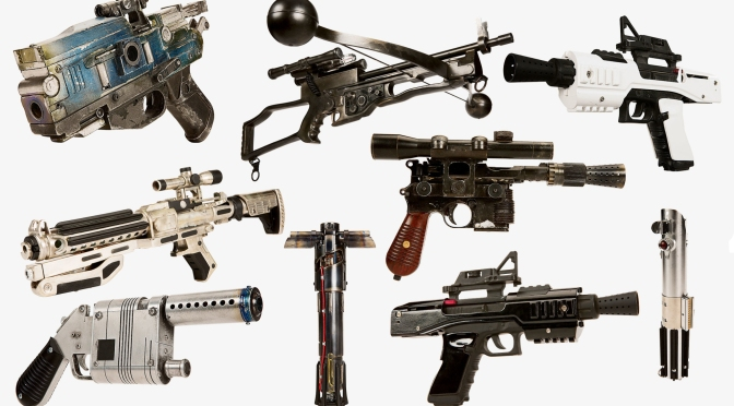 Star Wars The Force Awakens Weapons and Helmets