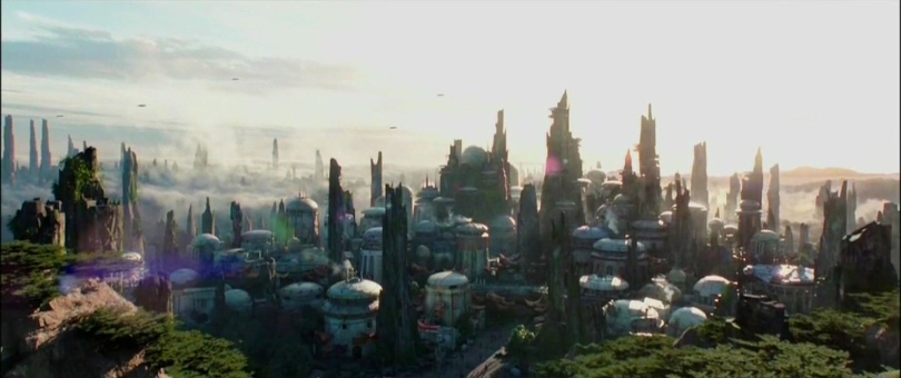 Disneyland 60 Star Wars Land New Concept Art Hi Res MilnersBlog - Star Wars Land