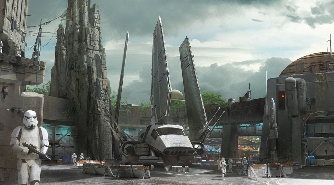 Star Wars Land : Concept Art