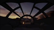 Disneyland 60 Star Wars Land New Concept Art Hi Res MilnersBlog - The Millennium Falcon Ride