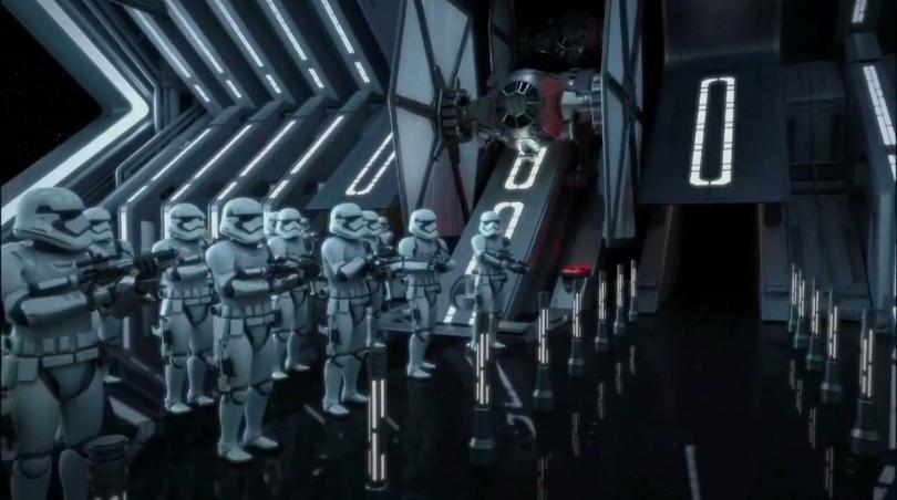 Disneyland 60 Star Wars Land New Concept Art Hi Res MilnersBlog - Resistance and First Order Battle Ride
