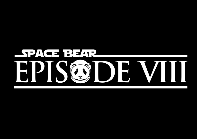 Episode VIII Space Bear Industries Star Wars Logo