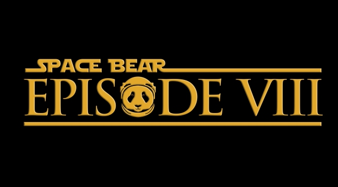 Star Wars Episode VIII Space Bear Industries Logo