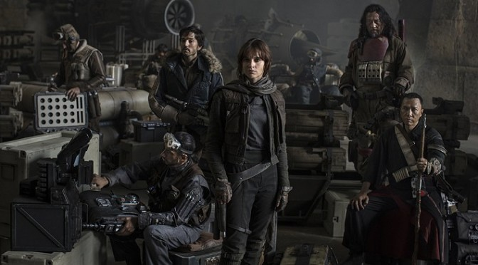 Rogue One A Star Wars Story Cast Photo