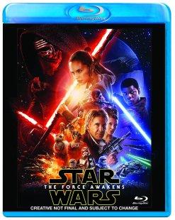 Star Wars The Force Awakens Blu-ray Box Cover Artwork