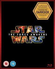 Star Wars The Force Awakens Blu-ray Box Cover Darkside Artwork