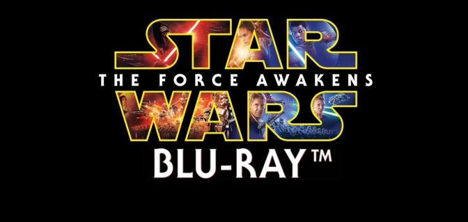 Force Awakens Blu-Rey