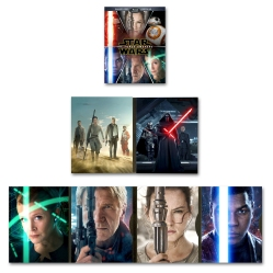 Star Wars The Force Awakens Blu Rey Blu-ray _Target_Box Cover and Booklet Artwork