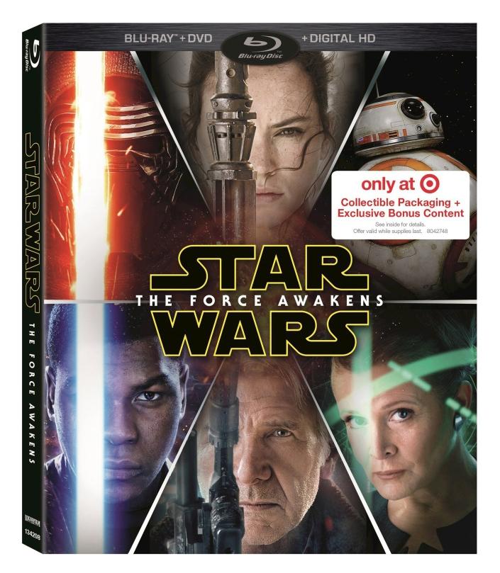 Star Wars The Force Awakens Blu Rey Blu-ray _Target_Box Cover Artwork