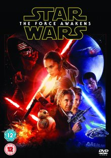 Star Wars The Force Awakens DVD Box Cover Artwork