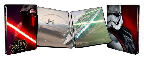 Star Wars The Force Awakens Metal Box Cover Artwork