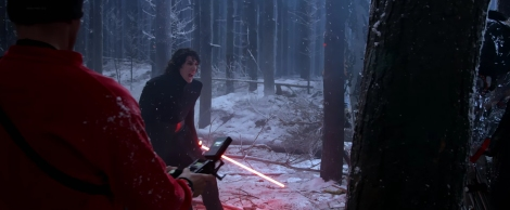 The Force Awakens Blu-ray or Blu Rey Trailer screenshots Star Wars