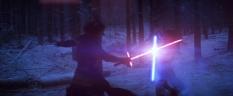 The Force Awakens Blu-ray or Blu Rey Trailer screenshots Star Wars