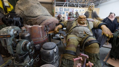 The Star Wars 360 Creature Shop