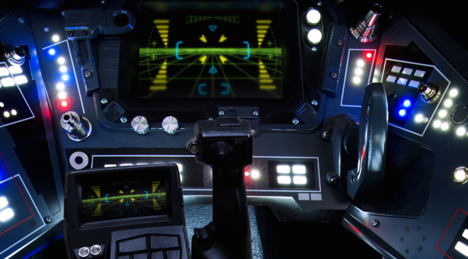 The 360 degree Intractactive X-Wing Cockpit Star Wars