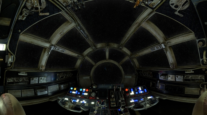 The 360 Millennium Falcon Cockpit