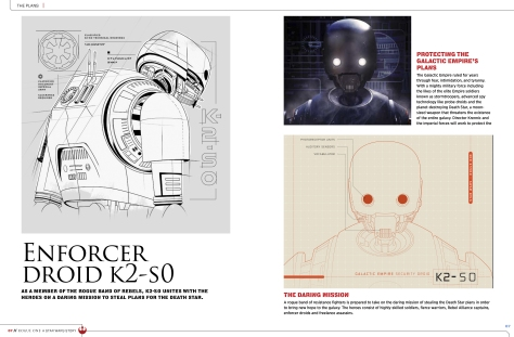 Leaked Star Wars Rogue One Visual Story Guide Enforcer Droid K2-S0 Hi Res Image