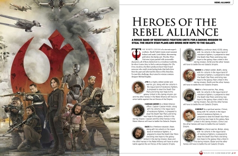 leaked star wars rogue one visual story guide heroes of the rebel alliance hi res image