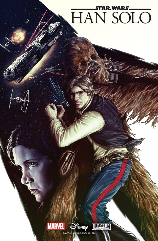 Marvel Comic Han Solo Series cover