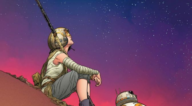 Marvel Unveils 'The Force Awakens' Comic Art