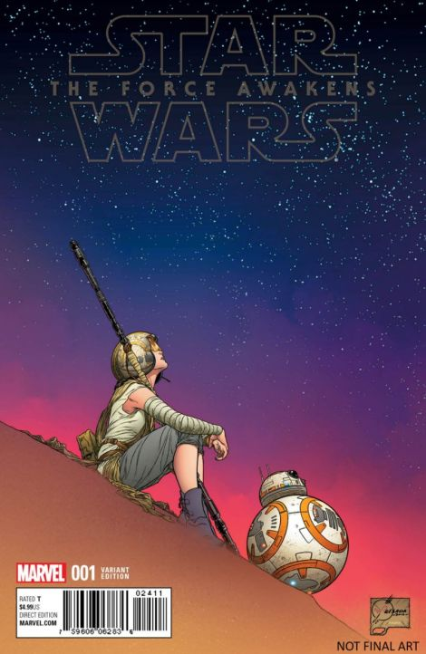 Marvel Force Awakens Comic Variant cover by Joe Quesada