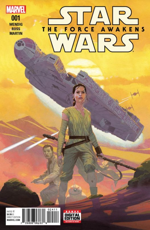 Marvel The Force Awakens No1 main cover by Esad Ribic