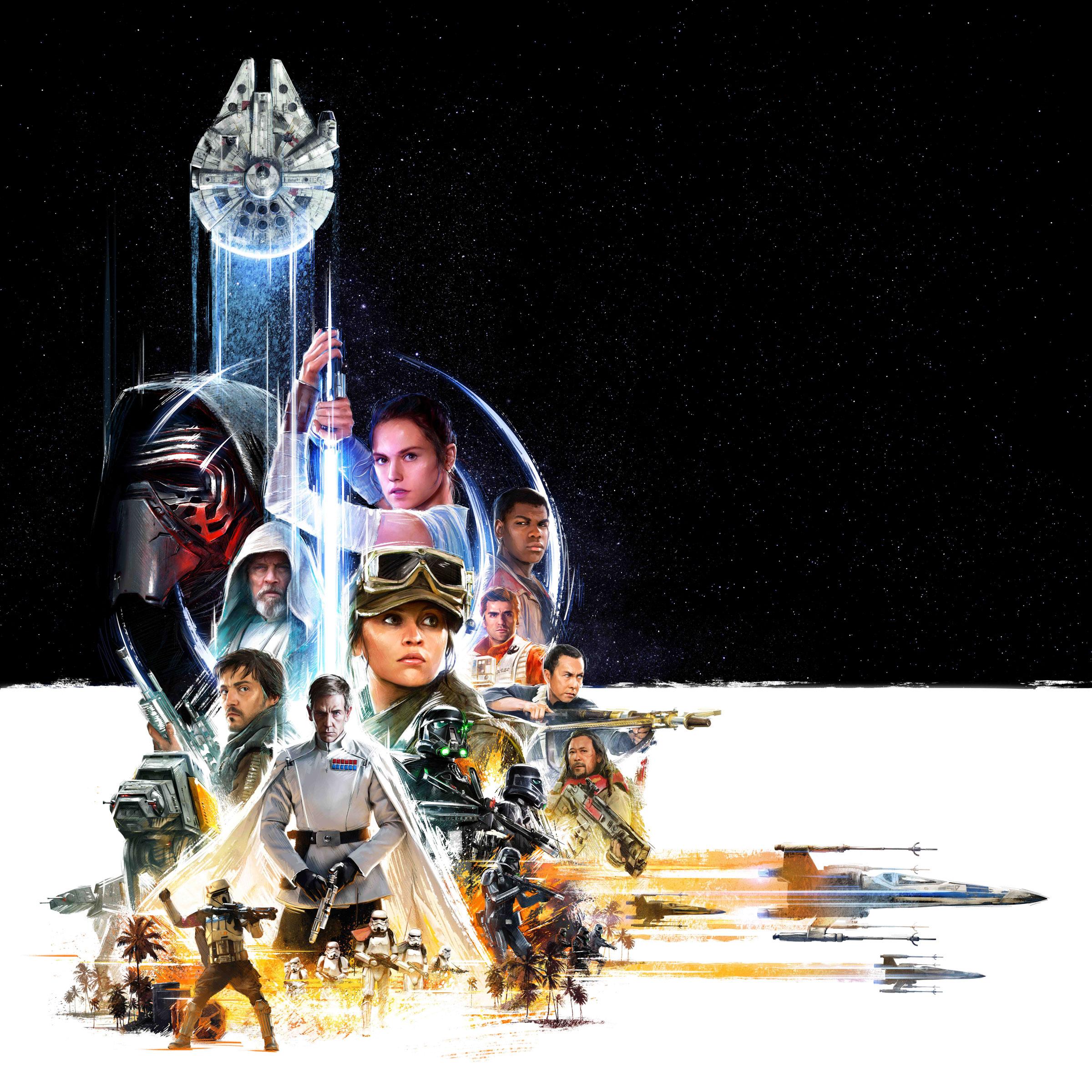 star wars celebration 2016 key artwork poster hi res milners blog
