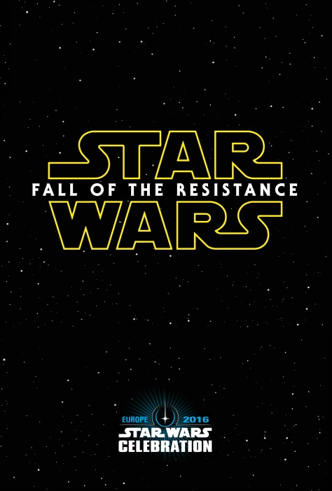 Star Wars Fall of the Resistance Teaser Poster Leaked