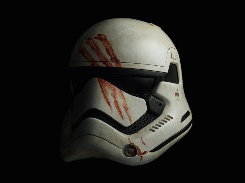 Star Wars The Force Awakens Helmet Replicas by Propshop Finn's Stormtrooper Helmet Hi-ResStar Wars The Force Awakens Helmet Replicas by Propshop Finn's Stormtrooper Helmet Hi-Res