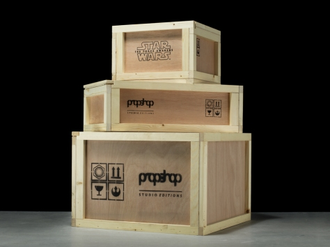 Star Wars The Force Awakens Propshop delivery crates