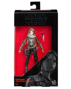 1st Rogue One Action Figure Revealed Jyn Erso Hasbro Black Series 2