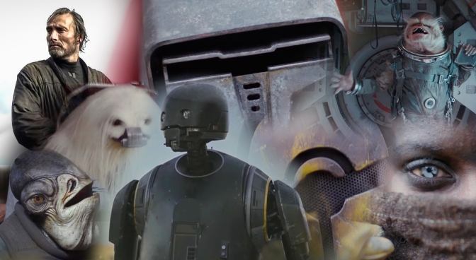 The New Characters of Rogue One