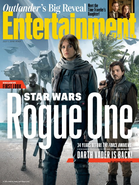 Rogue One A Star Wars Story Official Entertainment Weekly Exclusive Cover _ 2