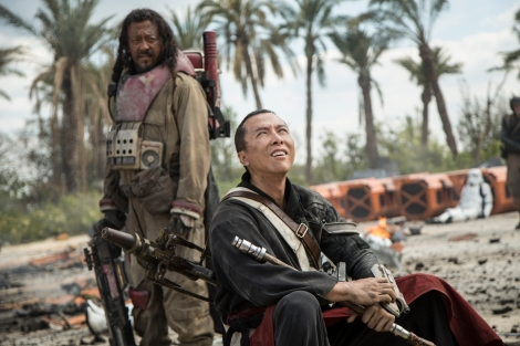 Rogue One A Star Wars Story Official Hi Res HD Images _ Baze Malbus (Jiang Wen) and Chirrut Imwe (Donnie Yen)