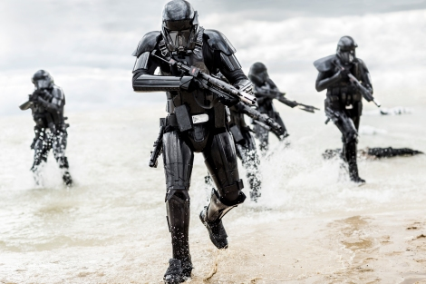 Rogue One A Star Wars Story Official Hi Res HD Images _ Deathtroopers Beach Assault