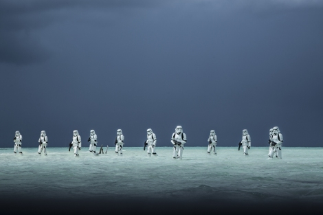 Rogue One A Star Wars Story Official Hi Res HD Images _ Stormtroopers Tropical Planet Scarif